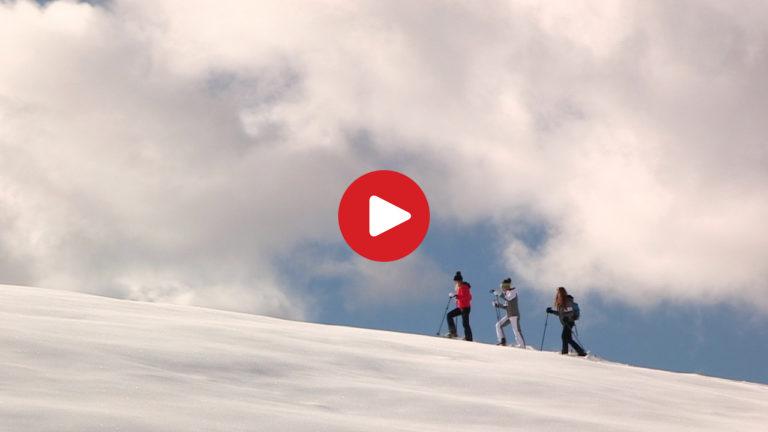Schneeschuh-Wandern in Villnöss
