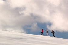 Con le ciaspole in Val di Funes