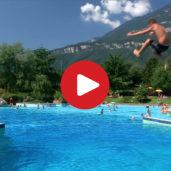 Bathing fun in Termeno and Caldaro