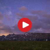 Dal tramonto all'alba sull'Alpe di Siusi