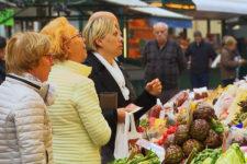 Der Bozner Obstmarkt