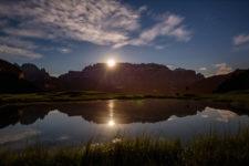 Sonnenuntergang am Sellastock