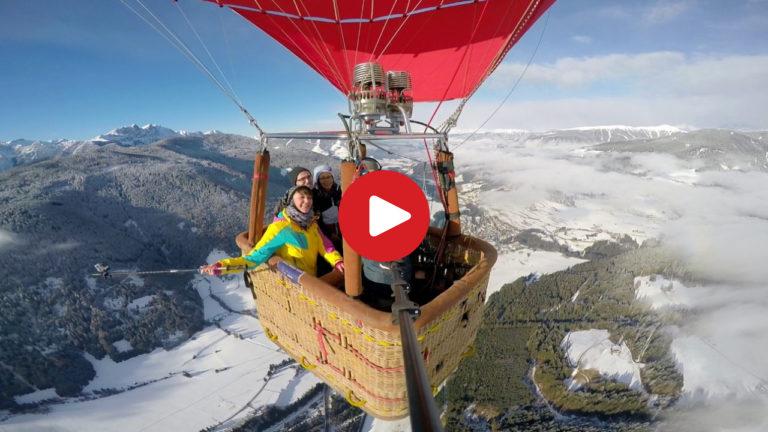 Ballonfahrt in Toblach
