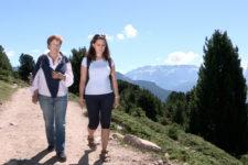 La fotografa del presidente Pertini in Val Gardena