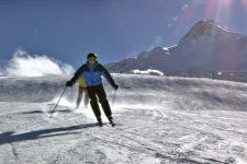 Inverno al Passo Resia