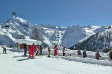 Sciare in famiglia a Trafoi