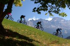 Scoprire la Val d'Ega in bici