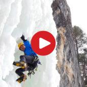 Cascate di ghiaccio in Val Gardena