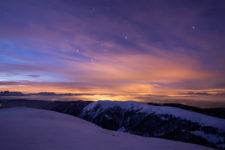 Una notte d'inverno a Merano 2000