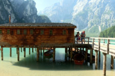 Lago di Braies Lake