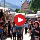 Il mercato del sabato a Bolzano