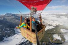Ballon trip in Dobbiaco