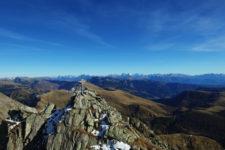 Monte Ivigna dall'alto