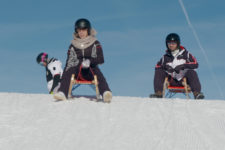 Tobogganing the right way