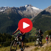 Biking in the Valle Aurina
