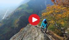 Klettersteig Unterstell : Hoachwool klettersteig