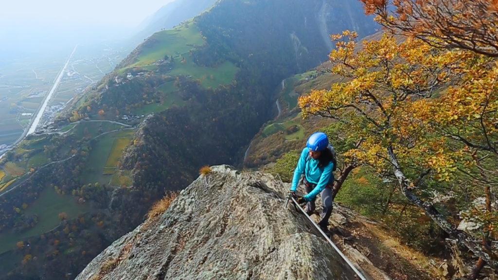 Klettersteig Naturns : Video: klettersteig hoachwool naturns