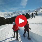 Maseben snowshoe hiking tour
