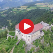 Rodengo Castle as seen from above