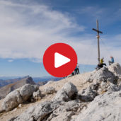 Hike on Mt. Croda del Becco