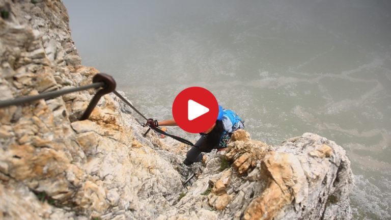 Klettersteig Burg : Video klettersteig pisciadù tridentina