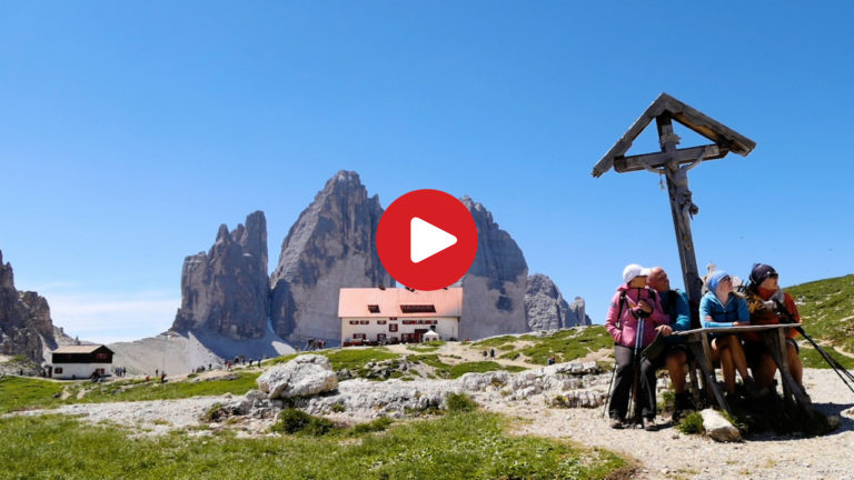 Hike to the Three Peaks of Lavaredo