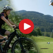 Golfing & biking in Passiria Valley