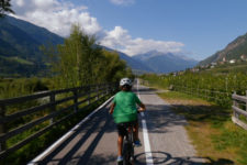 Via bike & train through Venosta