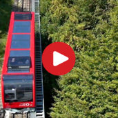The Mendola Funicular in Caldaro