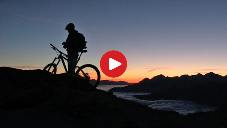 In MTB sul fronte dell'Ortles