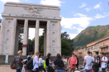 The Monument to Victory in Bolzano