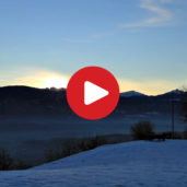 Sunrise on Appiano