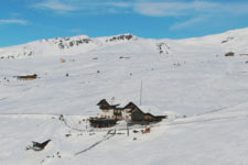 Alpe di Villandro in winter