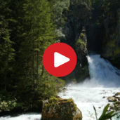 The waterfalls of Valle Aurina
