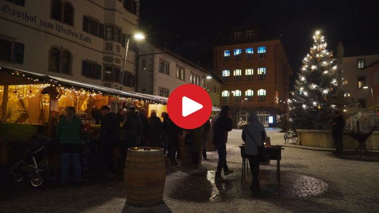 Christmas atmosphere in Caldaro