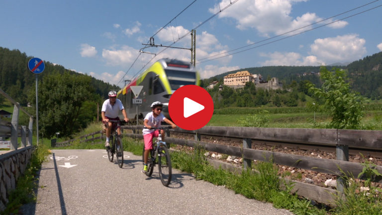Cycling experience in the Val Pusteria