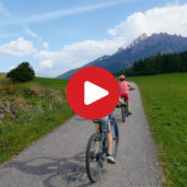 Biking through the Val Pusteria