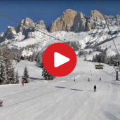 Carezza skiing area