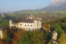 Castel Presule as seen from above