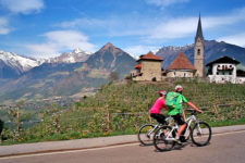 Pur: E-Bike in Schenna bei Meran