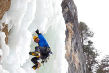 An Ice Climbing Adventure