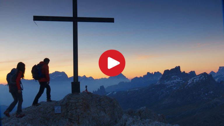 Sunrise on Mt. Sass de Stria