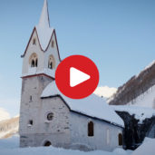 Holy Spirit in Casere in winter